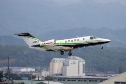 チャッピー・シミズさんが、小松空港で撮影した川崎重工業 525C Citation CJ4の航空フォト(飛行機 写真・画像)