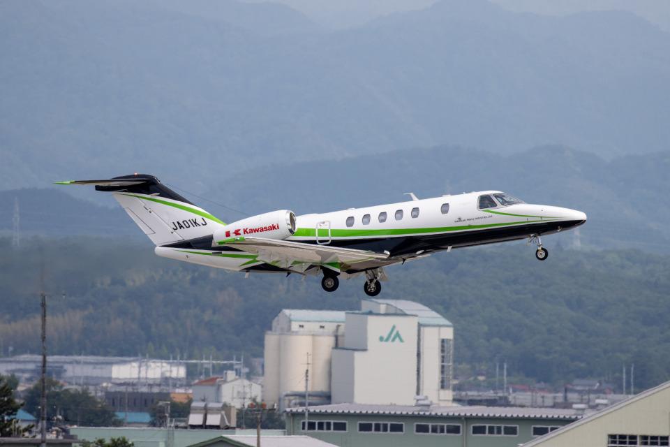 チャッピー・シミズさんの川崎重工業 Cessna 525 CitationJet (JA01KJ) 航空フォト