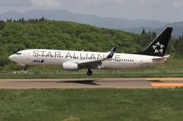 西風さんが、大館能代空港で撮影した全日空 737-881の航空フォト(飛行機 写真・画像)