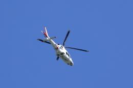 TAKAHIDEさんが、新潟空港で撮影した静岡エアコミュータ AW109SP GrandNewの航空フォト(飛行機 写真・画像)