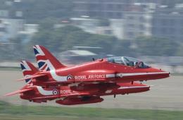 うっきーさんが、珠海金湾空港で撮影したイギリス空軍 BAe Hawk T1の航空フォト(飛行機 写真・画像)