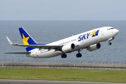 yabyanさんが、中部国際空港で撮影したスカイマーク 737-8ALの航空フォト(飛行機 写真・画像)