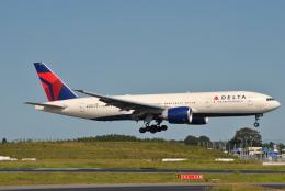 LEGACY-747さんが、成田国際空港で撮影したデルタ航空 777-232/LRの航空フォト(飛行機 写真・画像)