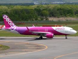 FT51ANさんが、新千歳空港で撮影したピーチ A320-214の航空フォト(飛行機 写真・画像)