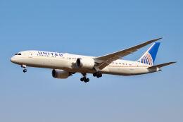 やまモンさんが、成田国際空港で撮影したユナイテッド航空 787-9の航空フォト(飛行機 写真・画像)