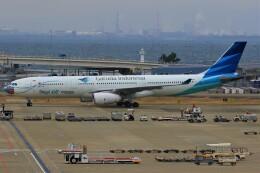 みるぽんたさんが、関西国際空港で撮影したガルーダ・インドネシア航空 A330-343Xの航空フォト(飛行機 写真・画像)