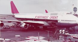 KOMAKIYAMAさんが、羽田空港で撮影したノースウエスト航空 747-251Bの航空フォト(飛行機 写真・画像)