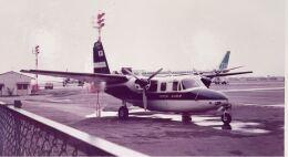KOMAKIYAMAさんが、名古屋飛行場で撮影した中日新聞社 680E Commanderの航空フォト(飛行機 写真・画像)