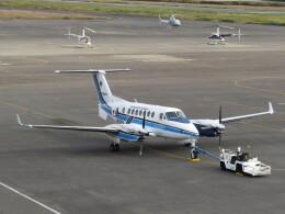F.YUKIHIDEさんが、岡南飛行場で撮影したレンジフライヤーズ King Air 350C (B300C)の航空フォト(飛行機 写真・画像)