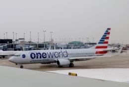 TA27さんが、オヘア国際空港で撮影したアメリカン航空 737-823の航空フォト(飛行機 写真・画像)