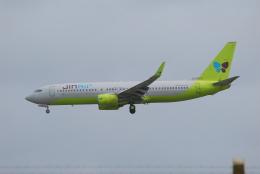 ITM58さんが、アントニオ・B・ウォン・パット国際空港で撮影したジンエアー 737-86Nの航空フォト(飛行機 写真・画像)