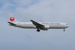ITM58さんが、アントニオ・B・ウォン・パット国際空港で撮影した日本航空 767-346/ERの航空フォト(飛行機 写真・画像)