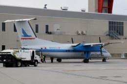 TA27さんが、フィラデルフィア国際空港で撮影したピードモント・エアラインズ DHC-8-102 Dash 8の航空フォト(飛行機 写真・画像)