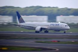 Souma2005さんが、成田国際空港で撮影したユナイテッド航空 787-9の航空フォト(飛行機 写真・画像)