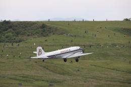 soiwbusさんが、福島空港で撮影したスーパーコンステレーション飛行協会 DC-3Aの航空フォト(飛行機 写真・画像)