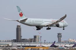 xingyeさんが、成田国際空港で撮影したエア・カナダ 787-9の航空フォト(飛行機 写真・画像)