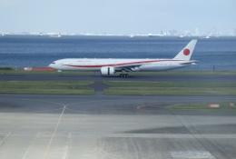 taiki_jcg__jediさんが、羽田空港で撮影した航空自衛隊 777-3SB/ERの航空フォト(飛行機 写真・画像)