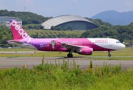 航空フォト:JA807P ピーチ A320
