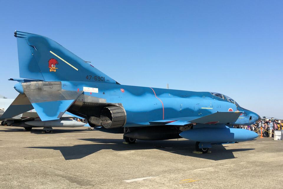 woodpeckerさんの航空自衛隊 McDonnell Douglas RF-4E Phantom II (47-6901) 航空フォト