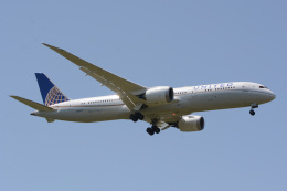 banshee02さんが、成田国際空港で撮影したユナイテッド航空 787-9の航空フォト(飛行機 写真・画像)