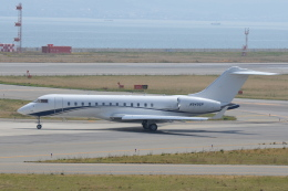 Deepさんが、関西国際空港で撮影したウィルミントン・トラスト・カンパニー BD-700-1A10 Global Expressの航空フォト(飛行機 写真・画像)