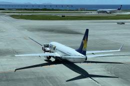 M.airphotoさんが、那覇空港で撮影したスカイマーク 737-8ALの航空フォト(飛行機 写真・画像)