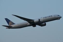 木人さんが、成田国際空港で撮影したユナイテッド航空 787-9の航空フォト(飛行機 写真・画像)