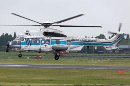 (新)ふぁんとむ改さんが、鹿児島空港で撮影した海上保安庁 EC225LP Super Puma Mk2+の航空フォト(飛行機 写真・画像)