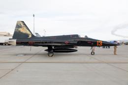 (新)ふぁんとむ改さんが、ネリス空軍基地で撮影したアメリカ海軍 F-5N Tiger IIの航空フォト(飛行機 写真・画像)