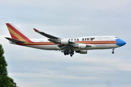 サンドバンクさんが、横田基地で撮影したカリッタ エア 747-446(BCF)の航空フォト(飛行機 写真・画像)