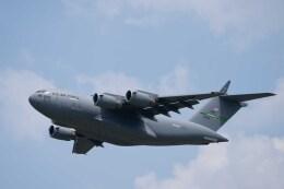 Takeshi90ssさんが、横田基地で撮影したアメリカ空軍 C-17A Globemaster IIIの航空フォト(飛行機 写真・画像)