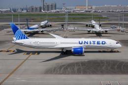 kuraykiさんが、羽田空港で撮影したユナイテッド航空 787-9の航空フォト(飛行機 写真・画像)