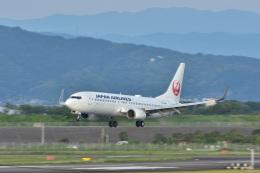 gullfisk198さんが、高知空港で撮影した日本航空 737-846の航空フォト(飛行機 写真・画像)