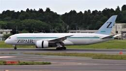 Rsaさんが、成田国際空港で撮影したZIPAIR 787-8 Dreamlinerの航空フォト(飛行機 写真・画像)