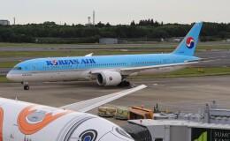 Rsaさんが、成田国際空港で撮影した大韓航空 787-9の航空フォト(飛行機 写真・画像)