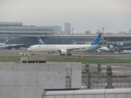 チャンギーVさんが、羽田空港で撮影したガルーダ・インドネシア航空 777-3U3/ERの航空フォト(飛行機 写真・画像)