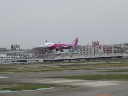 チャンギーVさんが、福岡空港で撮影したピーチ A320-251Nの航空フォト(飛行機 写真・画像)