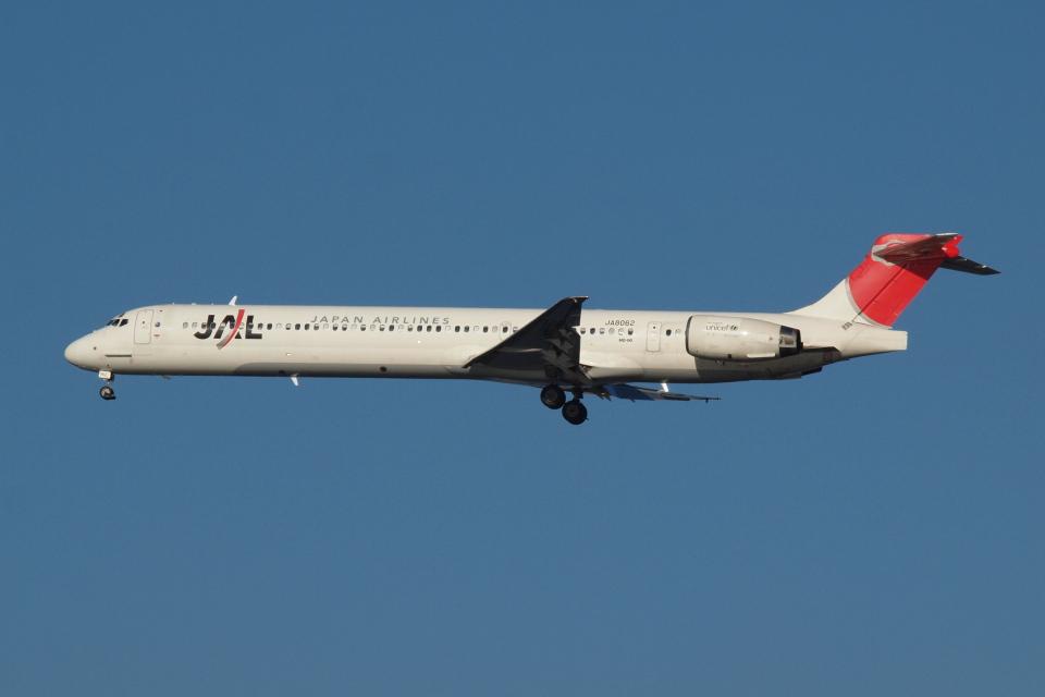 Deepさんの日本航空 McDonnell Douglas MD-90 (JA8062) 航空フォト