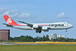 サンドバンクさんが、成田国際空港で撮影したカーゴルクス 747-8R7F/SCDの航空フォト(飛行機 写真・画像)