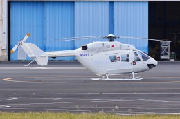 kaeru6006さんが、東京ヘリポートで撮影したディーエイチシー BK117B-2の航空フォト(飛行機 写真・画像)