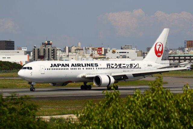 航空フォト:JA613J 日本航空 767-300
