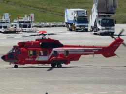 宮城の航空ファンさんが、仙台空港で撮影した東京消防庁航空隊 EC225LP Super Puma Mk2+の航空フォト(飛行機 写真・画像)