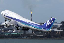 Hariboさんが、羽田空港で撮影した全日空 747-481(D)の航空フォト(飛行機 写真・画像)