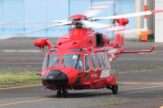 KAZFLYERさんが、東京ヘリポートで撮影した東京消防庁航空隊 AW189の航空フォト(飛行機 写真・画像)