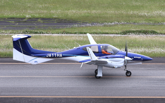 asuto_fさんが、大分空港で撮影した本田航空 DA42 NG TwinStarの航空フォト(飛行機 写真・画像)