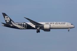 mameshibaさんが、成田国際空港で撮影したニュージーランド航空 787-9の航空フォト(飛行機 写真・画像)