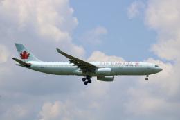 シゲキックスさんが、成田国際空港で撮影したエア・カナダ A330-343Xの航空フォト(飛行機 写真・画像)