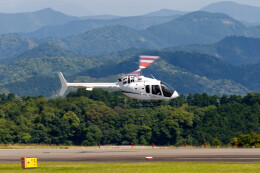 pcmediaさんが、静岡空港で撮影した雄飛航空 505 Jet Ranger Xの航空フォト(飛行機 写真・画像)