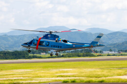 pcmediaさんが、静岡空港で撮影した滋賀県警察 A109E Powerの航空フォト(飛行機 写真・画像)