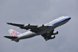 ぬま_FJHさんが、成田国際空港で撮影したチャイナエアライン 747-409F/SCDの航空フォト(飛行機 写真・画像)